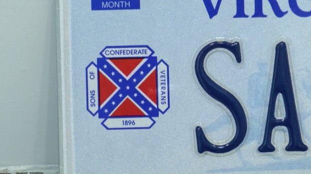 [NATL] Virginia Rolls Out New License Plates to Replace Confederate Flag