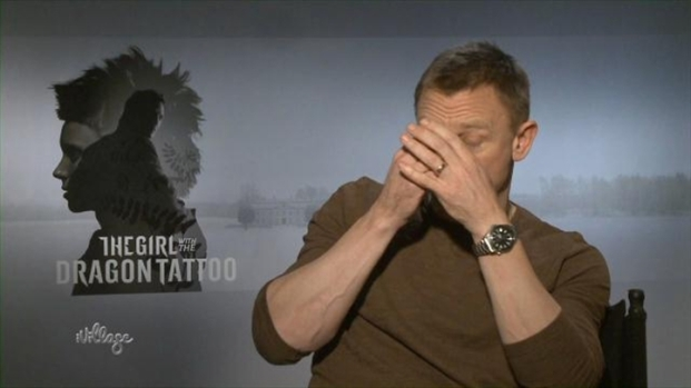 "[NY] Daniel Craig on How He Fattened Up for ""Dragon Tattoo"""