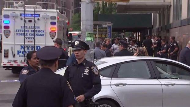 Police responding to shooting at NYC hospital