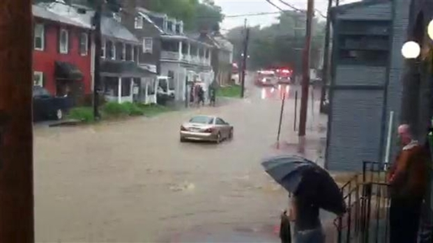 [DC] Raw Video: Flooding in Ellicott City