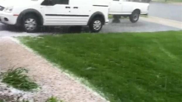 [DC] Hail Storm in Leesburg, Va.