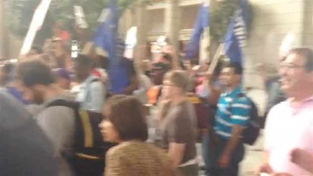 [DC] Federally Contracted Workers Strike at Union Station