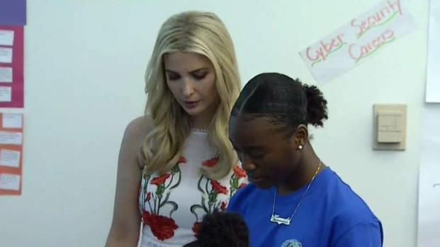 Ivanka Trump Visits STEM Camp in Prince George's County