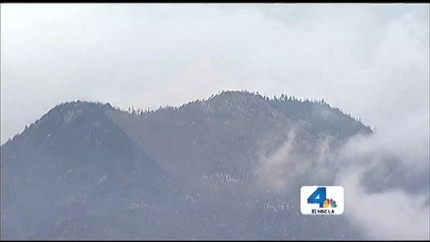 "[LA] ""Miracle"" Rain Weakens Massive Mountain Fire"