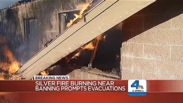 [LA] Silver Fire Destroys Homes as Evacuees Scramble to Safety