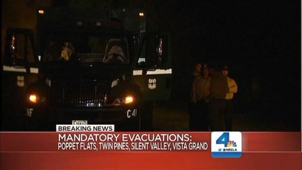 [LA] Silver Fire Burns on Historically Dangerous Terrain
