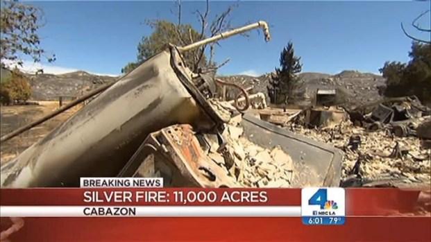 [LA] Thousands of Firefighters Battle Silver Fire