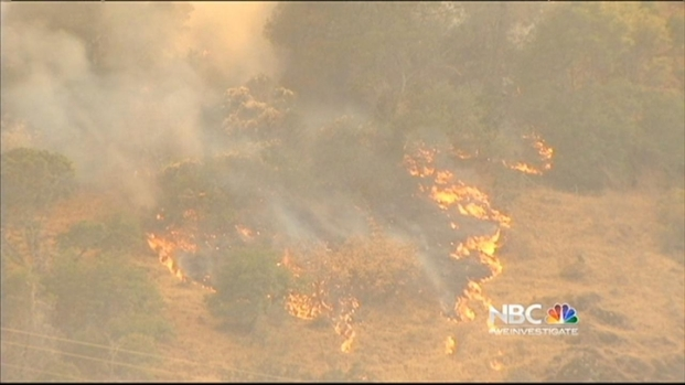 [BAY] Mt. Diablo Fire Forces Residents to Evacuate Homes