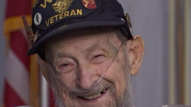 [DC] Last Surviving Frogman Celebrates 94th Birthday