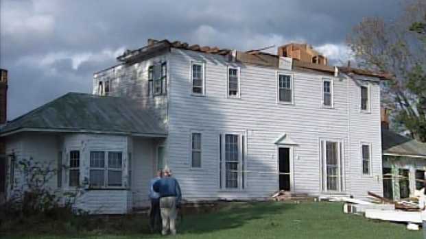 [DC] Possible Tornado Damage in Louisa County