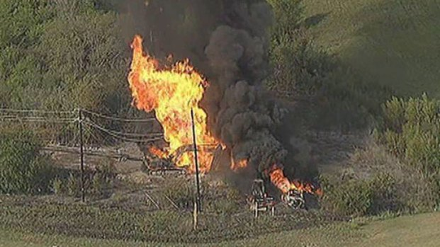 [DFW] Several Hurt in Gas Line Explosion