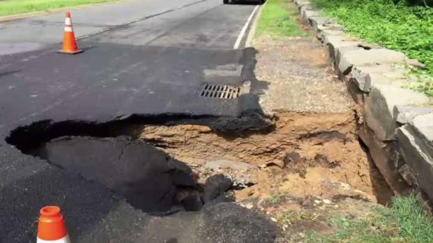 [DC] NB Lanes of GW Parkway Closed for Sinkhole Repairs