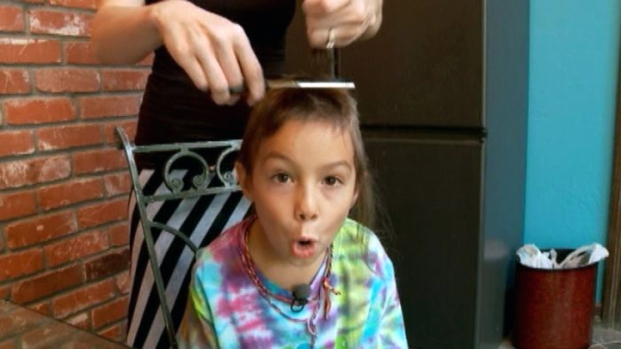 [NATL] 7-Year-Old Donates Hair For Cancer Patients