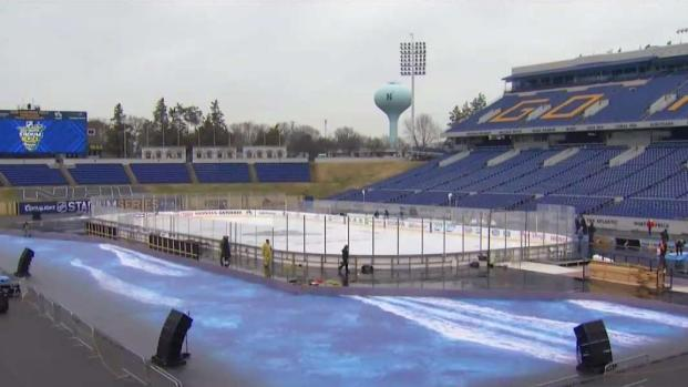 NHL Takes Precautions Against Wind at Outdoor Rink in Md.