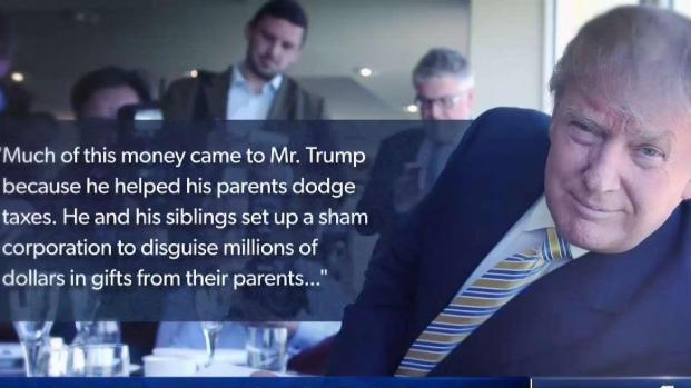 [NATL-NY] NYT Reports Trump and Family Cheated Taxes