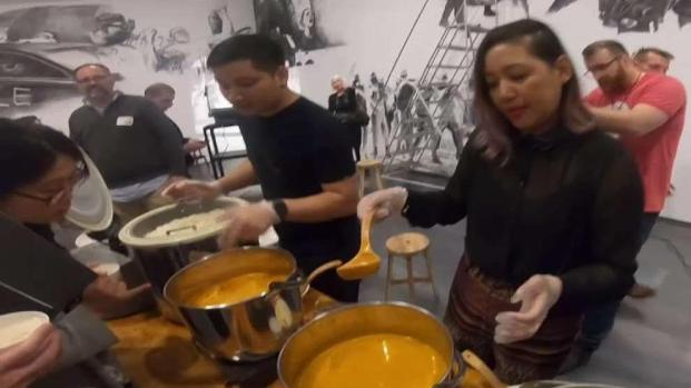 [DC] New Exhibit at Hirshhorn Gives Away Free Curry
