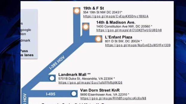 New Slug Lines Forming Ahead of Metro Shutdown