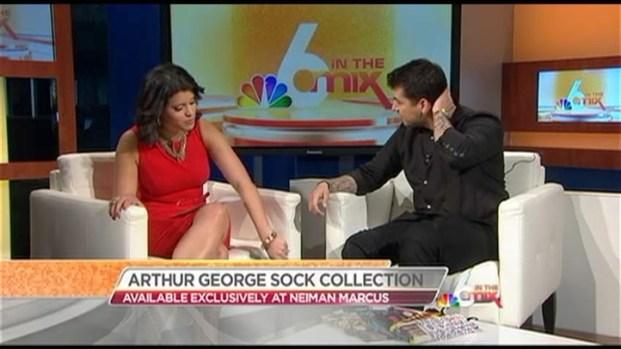 Rob Kardashian Talks Socks