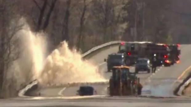 [DC] Route 210 Reopens After Water Main Break