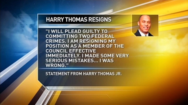 [DC] Harry Thomas Jr. Resigns