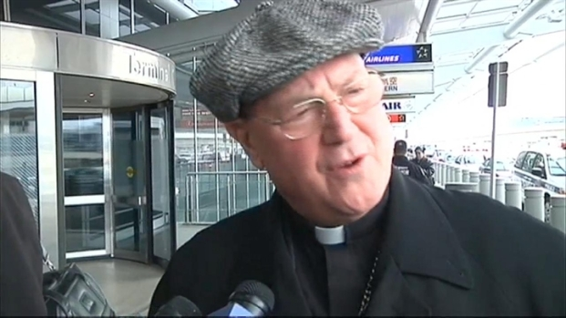 [NY] Timothy Cardinal Dolan Heads to Rome for Pope Resignation