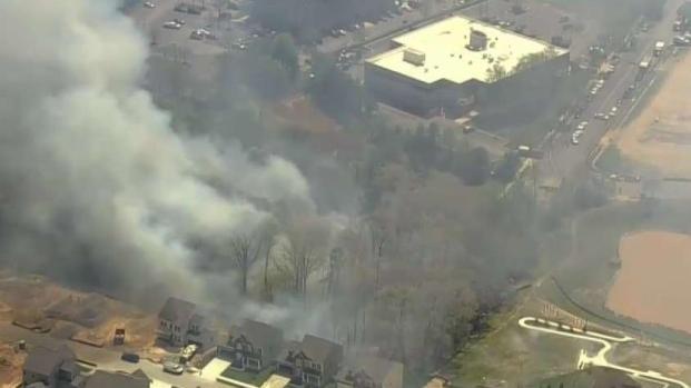 [DC] Second Fire in Woods Near Massive Blaze