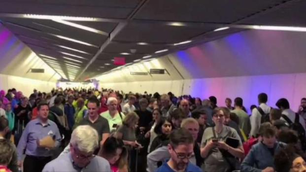 Severe Storm Grounds Flights at Dulles