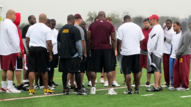 [DC] Redskins Hold Own Practice