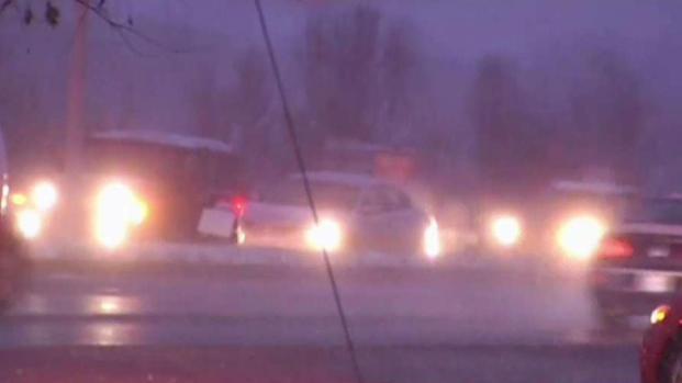 [DC] Snow Causes Slick Roads in Brandywine