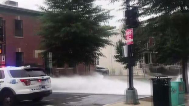 Someone Is Opening Fire Hydrants in DC