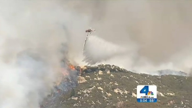 [LA] Mountain Fire Continues to Grow, Prompts Summer Camp Evacuations