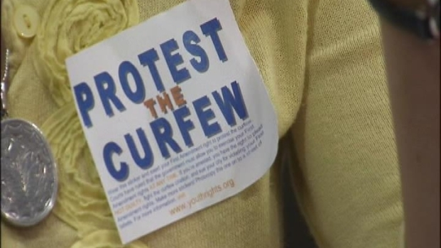 [DC] Teens Protest Curfew Proposal in Montgomery County