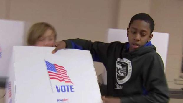 [DC] Too Young to Vote, Maryland Students Pitch in at the Polls