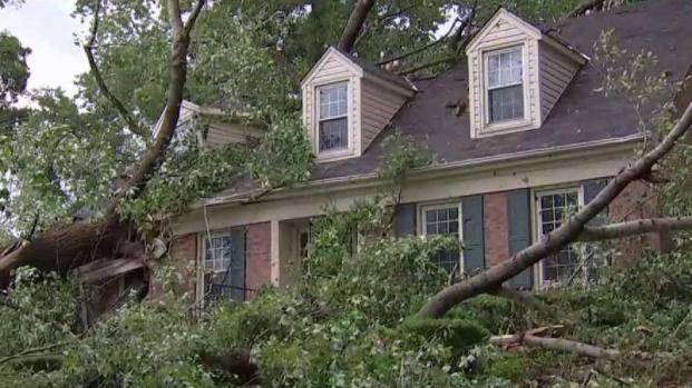 [DC] Video: Twister Hits Howard County