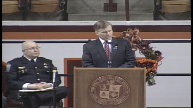 [DC] Virginia Tech Honors Fallen Officer