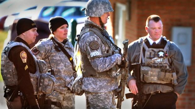 Dramatic Photos: VA Tech Shooting