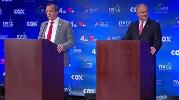Virginia Candidates for US Senate Make Final Remarks