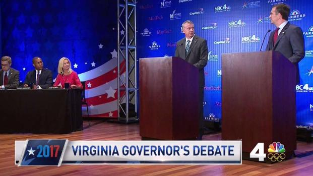 Recent polls show close contest in Virginia governor's race