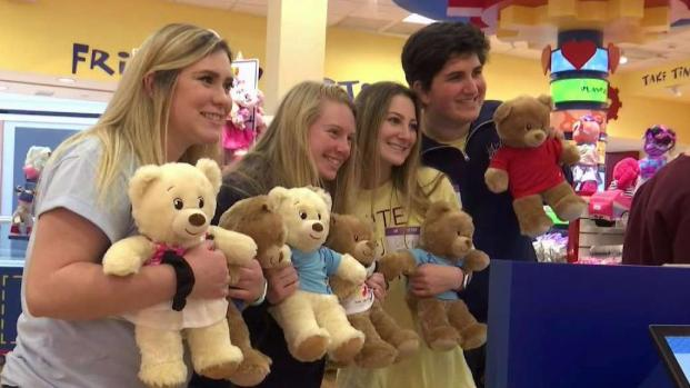 Virginia Students Build Bears for Kids in Hospital
