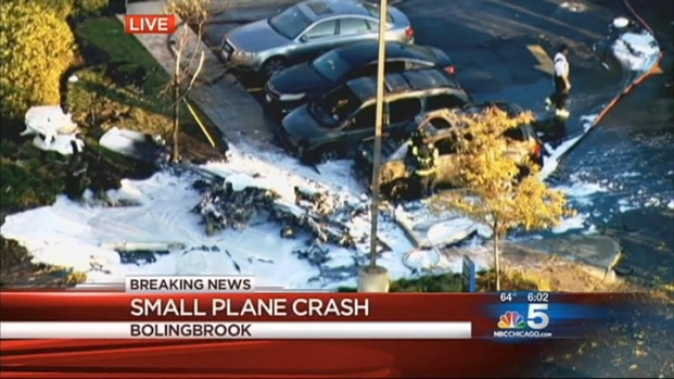 "[CHI] Plane Crash: ""I Heard A Loud Boom"""