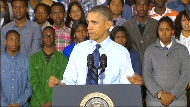 """[NY] President Obama Praises Brooklyn for Being """"Cool,"""" Drawing Generations of Immigrants"""
