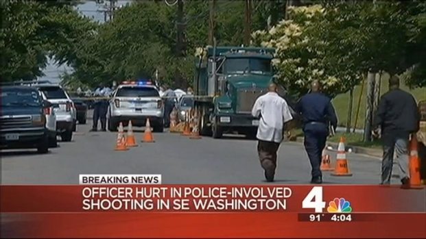[DC] Suspect Killed in Shootout With D.C. Police Officer