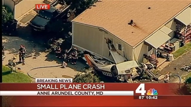 [DC] Small Plane Crashes in Anne Arundel