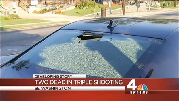 [DC] Two Dead in SE Triple Shooting
