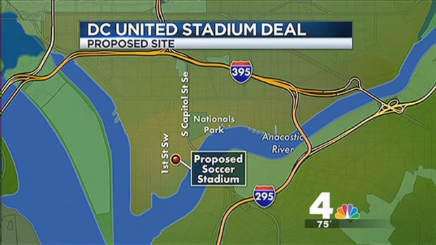 [DC] Mayor Gray to Announce New DC United Stadium