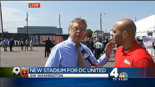 [DC] Mayor Announces D.C. United Stadium Plans