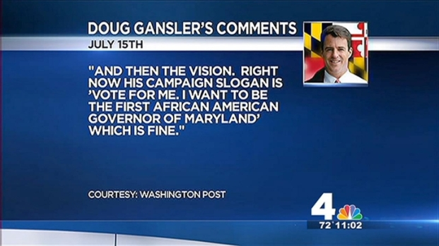 [DC] Gansler: Brown Relying on Race in Md. Governor Race