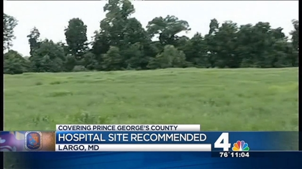 [DC] County Exec. Recommends Site of New Regional Hospital