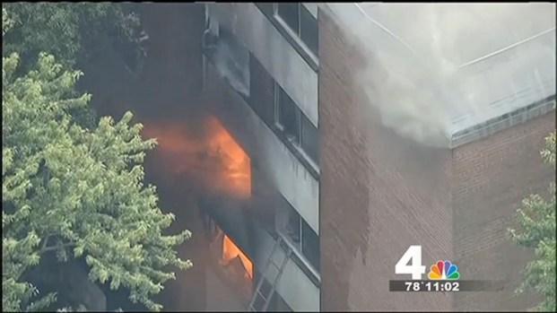 [DC] 10 Hospitalized, 100 Homeless Following Maryland Apt. Fire