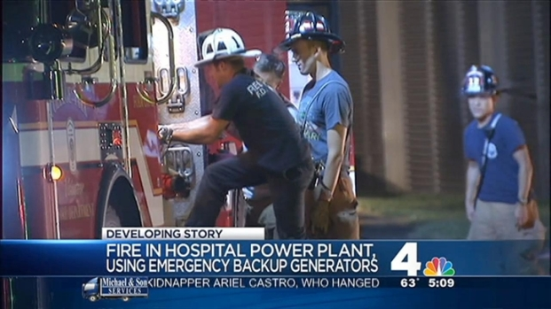 [DC] Crews Work to Restore Power at Pr. George's Hospital